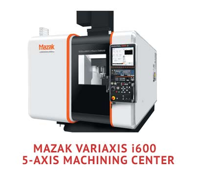 State-of-the-Art 5-Axis CNC Machining