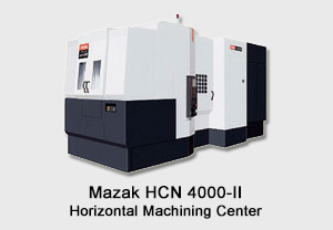 Mazak Horizontal Machining Center
