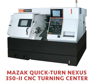 Mazak Quick Turn CNC Machine